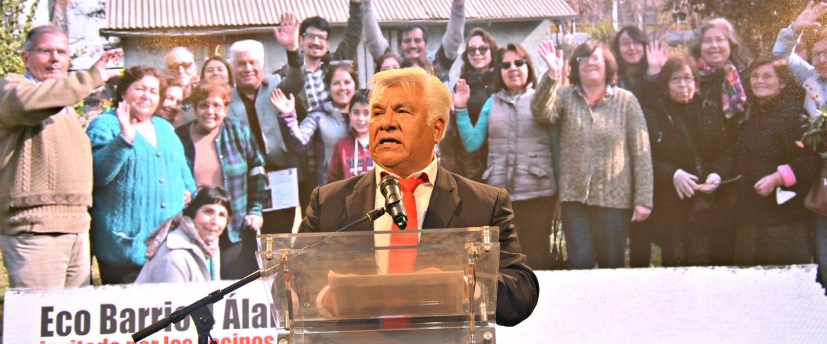 PRESIDENTE DEL CORE SANTIAGO ENTREGÓ CUENTA PÚBLICA 2017