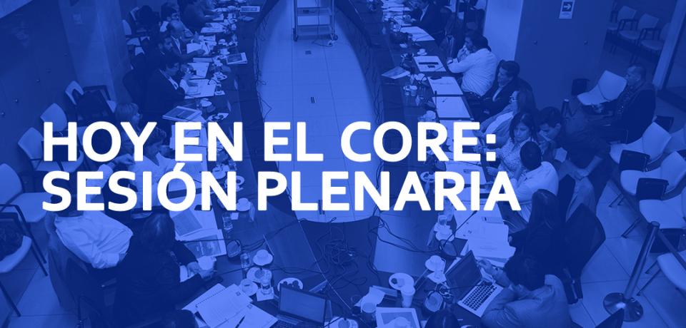 HOY EN EL CORE - PLENARIO